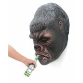 Gorillakopf mit Zigarre für Wand Flaschenöffner