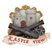 Castle View Schild
