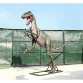 Dinosaurier Tyrannosaurus Angriffsstellung