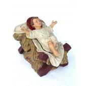 Jesuskind auf Strohlager