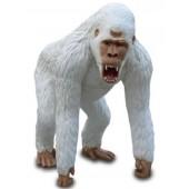 Weißer Bergorilla Affe