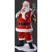 Weihnachtsmann mit Spielzeugsack