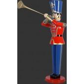 Spielzeugsoldat mit Trompete