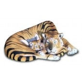 Tigerin mit Jungen