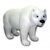 Eisbär laufend