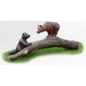 2 Bären auf Baum