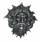 Poseidon Kopf mit Fontäne aus dem Mund