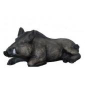Wildschwein liegend