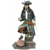 Pirat mit Weinhalterung dunkel