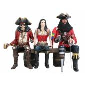 Piraten auf Weinfassbank