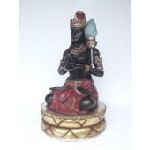 Hindu Göttin mit Lampe