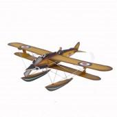 Doppeldecker als Wasserflugzeug