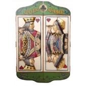 Spielstands- oder Dart-Kasten