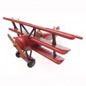 Der Rote Baron als kleines Flugzeugmodell
