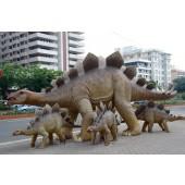Saurier Stegoraurus ausgewachsen