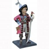 kleines Piratenmädchen