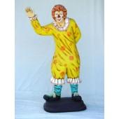 Clown winkend
