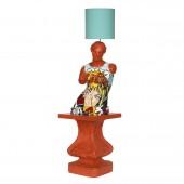 Venus Torso im PopArt Style als Stehlampe