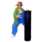 Rapper mit CD-Ständer