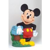 Mickey Maus mit Briefkasten