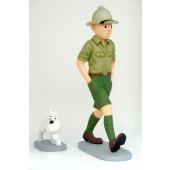 Tin Tin mit Hund