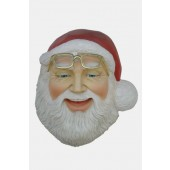 Weihnachtsmann Maske für Wandmontage
