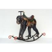 Schaukelpferd - Affe