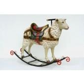 Schaukelpferd - Schaf