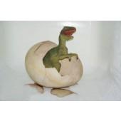 Schlüpfenes T-Rex Baby aus Dinosaurierei