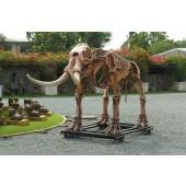 Mastodon Skelett