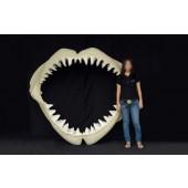 Großer Weißer Hai Gebiss Groß