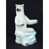 Polarbär Sitz