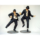 Blues Brothers tanzend