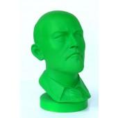 Vladimir Lenin Büste grün