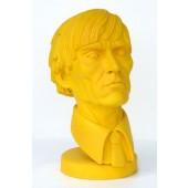 Andy Warhol Büste gelb