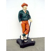 Old English Golfer