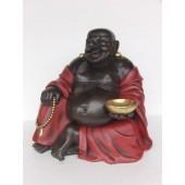 Buddha Rot Schwarz