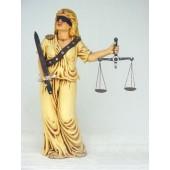 Richterin Justizia klein