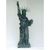 Freiheitsstatue wie das Orginal Bronze