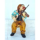 Clown mit Violine