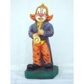 Clown mit Saxophon klein