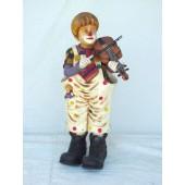Clown mit Geige