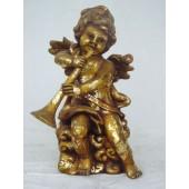 Engel stehend mit Trompete