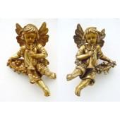 Engel hängend mit Flöten SET