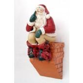 Weihnachtsmann macht Rast