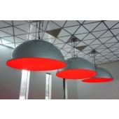 Retro Dome Lampe mittel