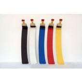 Farbpinsel als Kleiderhaken Gelb