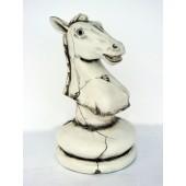 Pferd Schach Weiß