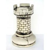 Turm Schach Weiß