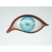 Auge als Uhr